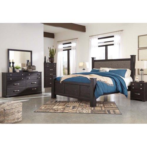 Reylow - Dark Brown 2 Piece Bedroom Set