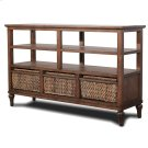 3-Basket Entertainment Center Product Image