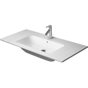 Me By Starck Furniture Washbasin 3 Faucet Holes Punched