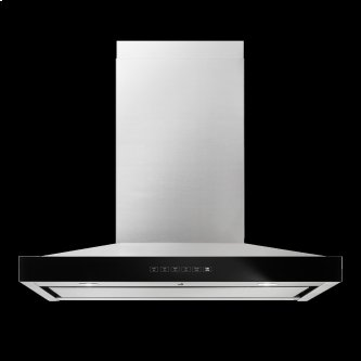 "Lustre Stainless 30"" Pyramid Style Canopy Wall Hood"
