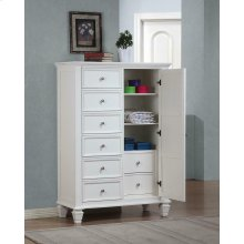 Sandy Beach Door Dresser With Concealed Storage