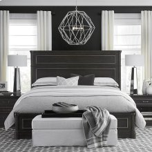 Queen/Anchor Grey Martinique Panel Bed