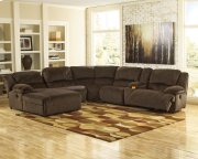 Toletta - Chocolate 6 Piece Sectional Product Image