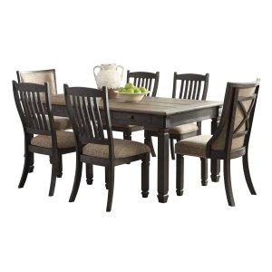 Ashley Furniture Tyler Creek - Black/gray 7 Piece Dining Room Set