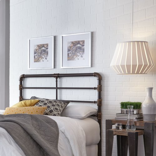 Everett Metal Headboard, California King