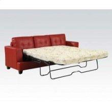 Red Bnd L. Sofa W/Q.SLEEPER