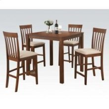 5pc Pk Counter Height Set @n