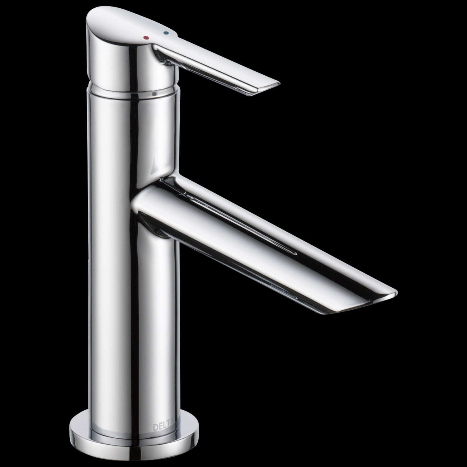 Chrome Single Handle Bathroom Faucet