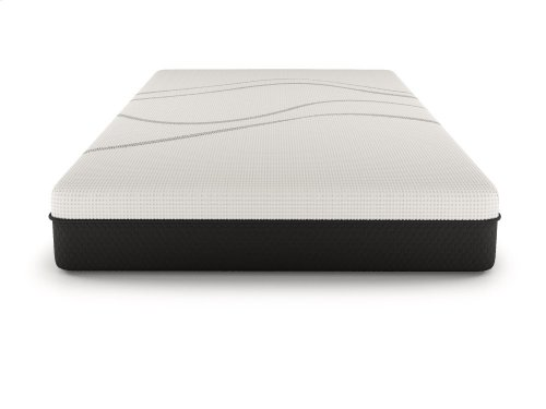 """Dr. Greene - 11.5"""" Cool Graphite Foam Hybrid - Bed in a Box - Firm - Hybrid - Tight Top - Cal King"""