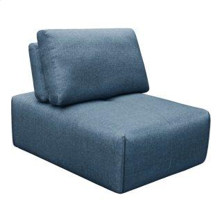 Nathaniel Slipper Chair Blue