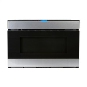 Sharp Appliances24 in. 1.2 cu. ft. 950W Sharp Stainless Steel Easy Wave Open Microwave Drawer