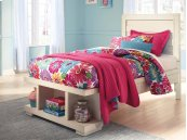Blinton - White 3 Piece Bed Set (Twin)