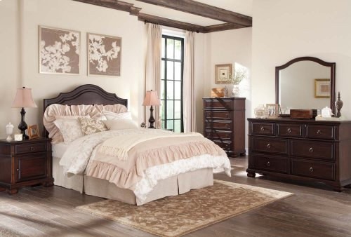 Ashley 4-Piece King Panel Bedroom Set