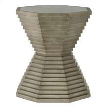 Mosaic End Table in Warm Graphite Leaf (373)