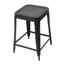 Industrial Studded Stool- Medium
