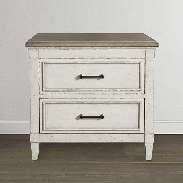 Bassett Furniture Bella Wood Top Nightstand