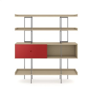 Bdi Furniture5201 Shelf in Drift Oak Cayenne