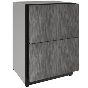 "U-Line 24"" Refrigerator Drawers With Integrated Solid Finish (115 V/60 Hz Volts /60 Hz Hz)"