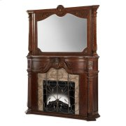 Fireplace With Mirror & Electric Insert 3pc Product Image