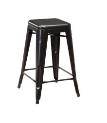 Pinnadel - Grayish Brown Set Of 4 Dining Room Barstools