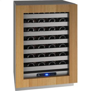 "U-Line5 Class 24"" Wine Captain(r) Model With Integrated Frame Finish and Field Reversible Door Swing (115 Volts / 60 Hz)"