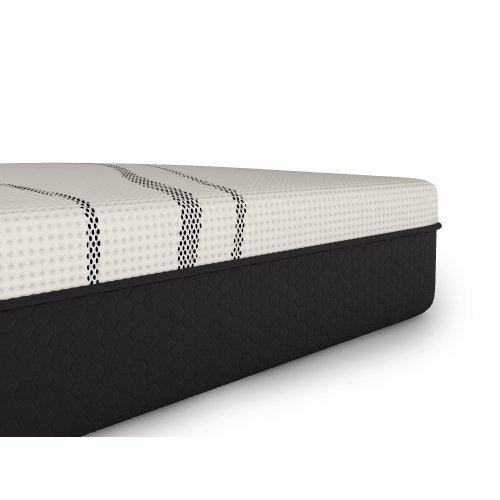 "Dr. Greene - 11.5"" Cool Graphite Foam Hybrid - Bed in a Box - Firm - Hybrid - Tight Top - Queen"