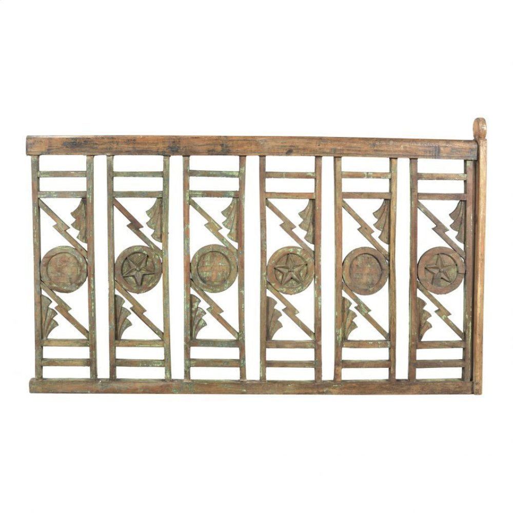 Antique Reclaimed Wood Partition