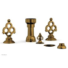 MAISON Four Hole Bidet Set 164-60 - French Brass