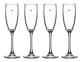 Champagne Glasses (Set of 4)