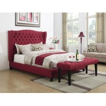 FAYE RED EASTERN KING BED
