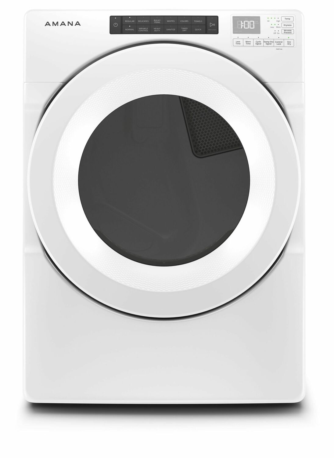 Amana7.4 Cu. Ft. Front-Load Dryer With Sensor Drying - White