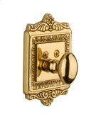 Nostalgic - Single Cylinder Deadbolt Keyed Differently - Egg and Dart in Unlacquered Brass Product Image