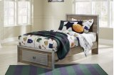McKeeth - Gray 4 Piece Bed Set (Twin) Product Image