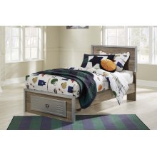 McKeeth - Gray 4 Piece Bed Set (Twin)