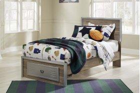 McKeeth - Gray 4 Piece Bed Set (Twin)