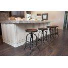 Pinnadel - Grayish Brown Set Of 2 Dining Room Barstools Product Image