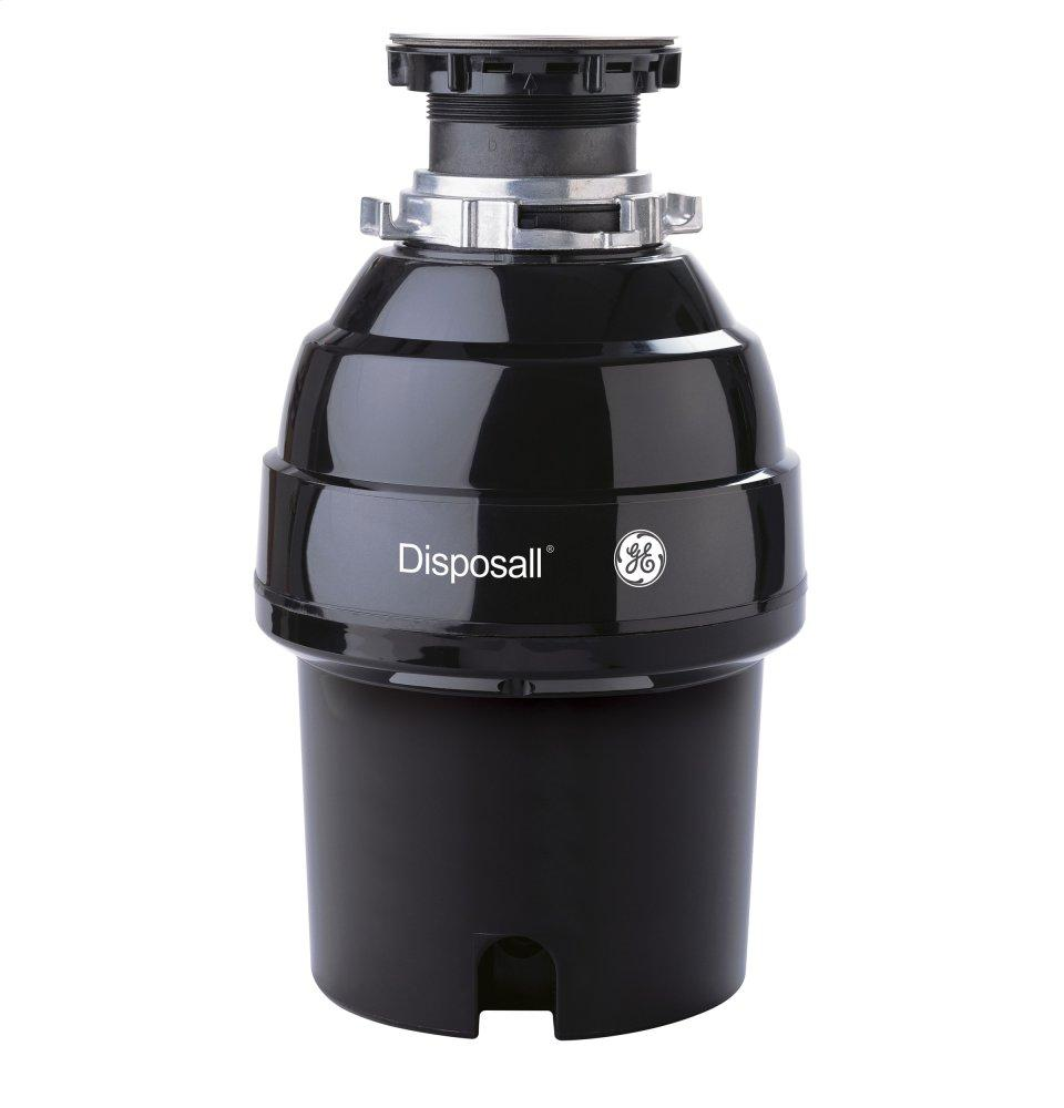 GE3/4 Hp Continuous Feed Garbage Disposer - Non-Corded