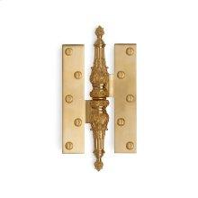 Antique Gold Renaissance Paumelle Hinge - Large