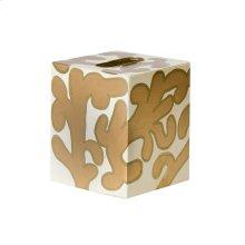 Kleenex Cream and Gold PATTERN.