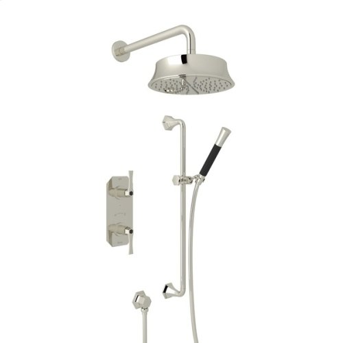 Polished Nickel Bellia Bekit50l Thermostatic Shower Package