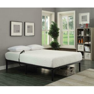 CoasterStanhope Black Adjustable Twin Extra Long Bed Base