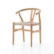 Natural Teak Finish Muestra Dining Chair