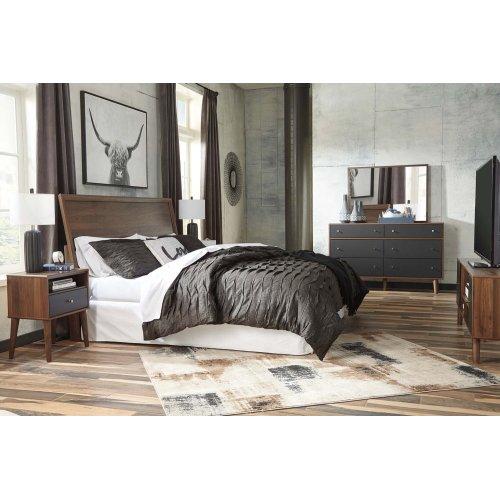 Daneston - Brown/Graphite 2 Piece Bedroom Set