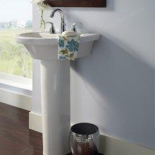 Tropic Petite 21-inch Pedestal Sink  American Standard - White
