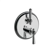 """7097jp-tm - 1/2"""" Thermostatic Trim With Volume Control and 2-way Diverter in Polished Chrome"""