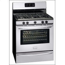 Stainless Steel 30 Inch Gas Range