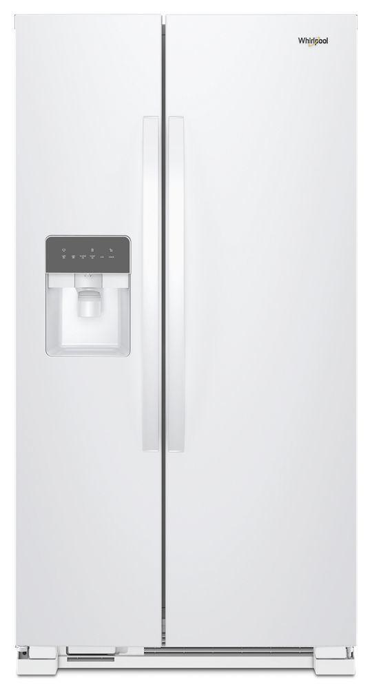 Whirlpool36-Inch Wide Side-By-Side Refrigerator - 24 Cu. Ft.