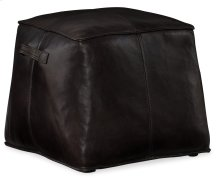 Living Room Dizzy Small Leather Ottoman