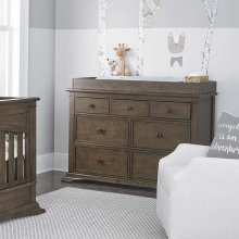 Heron Grey Emerson Double Dresser