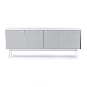 Bdi Furniture7279 Media Console in Smooth Satin White